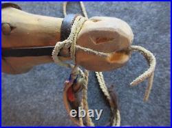 Native American Horse Dance Stick, American Indian Effigy Wand, #day-02183