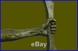 Native American Indian Warrior Chief Bronze Bust Sculpture Statue Figurine LARGE