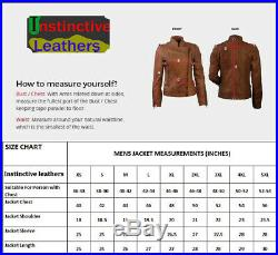 Native American Mountain Man Red Indian Buckskin Leather Shirt Jacket Coat