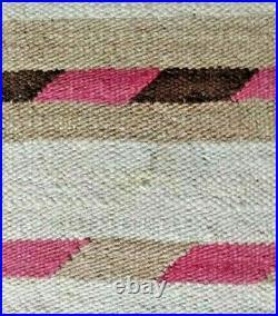 Navajo Rug Hopi Blanket Antique Native American Indian Weaving 1890
