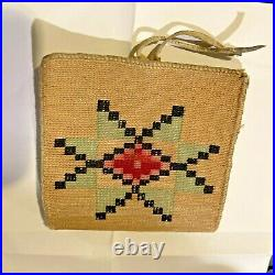 Nez Perce Indian Woven Corn Husk Bag Wallet 3 Designs Native American Basket