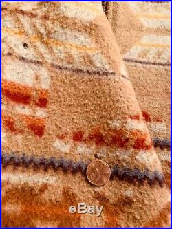 Pendleton Western Vintage Mens Jacket Aztec Native American Indian Size MED USA