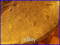 Rare Sitting Bull American Indian Bronze Death Mask