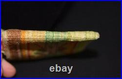 Rare Small Nez Perce Indian Woven Corn Husk Bag Native American