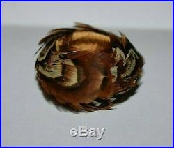 Rare Tiny California Pomo Indian Feather Basket Native American Miniature #6