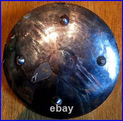 Unusual Sterling Silver Native American Hopi Indian Hand Made Dish