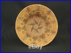 Very Rare and Fine Tubatulabal Pictorial Basket, Native American Indian, c. 1900