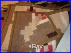 Vintage Cayuse Native American American Indian Blanket Pendleton Woolen Mills