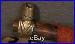 Vintage Native American Sioux Plains Indian Hudson Bay Tomahawk Pipe