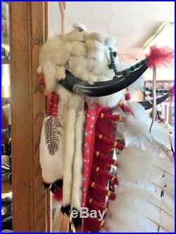 Vintage Rare Native American Navajo Handmade Indian Head Dress