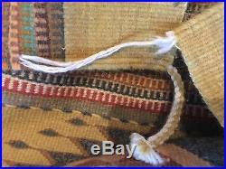 Vintage Wide Ruins Navajo American Indian Native Wool Rug 79x116 Pine Springs
