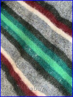 Vtg 1920s PENDLETON Cayuse Indian Blanket STRIPES Native American Southwest Wool